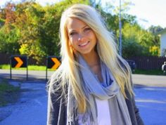 Beautiful blogger girl from Norway