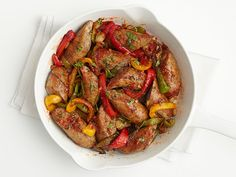 Turkey Sausage and Peppers Recipe : Food Network Kitchen : Food Network