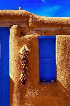 Blue Window / New Mexico