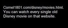 Watch Disney movies for free!!!