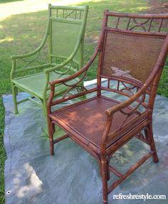 Green Chair DIY Pain
