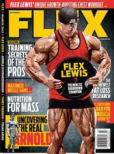 March 2013 - Flex Magazine Cover