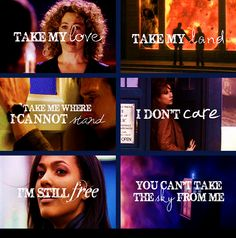 Doctor Who and Firefly - this is sublime.