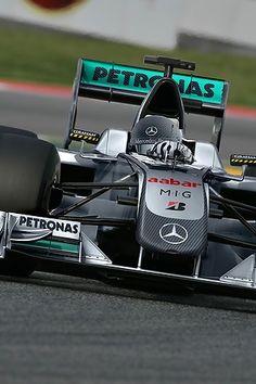mercedes gp petronas formula one team the car michael
