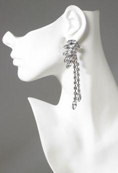 Camille La Vie | Group USA:rhinestone cluster earring