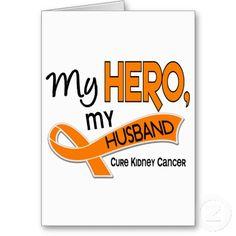 kidney cancer awareness | ... kidney cancer and promote kidney cancer awareness with my hero my