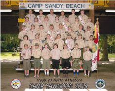 North Attleboro Boy Scouts visit Camp #Yawgoog.  A story about Boy Scout Troop 23 North Attleboro, Massachusetts, posted to The Sun Chronicle on August 12, 2014.