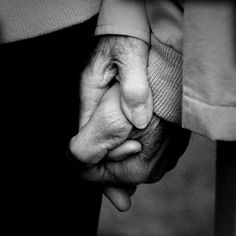My husband holding my hand will always make me feel safe, secure and loved.