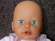 """2005 Zapf Creation """"Baby Annabell"""" Interactive doll.  Check out the video on my YouTube Channel: http://www.youtube.com/user/christmaseveryday1 haha My old favorite doll..."""