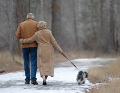 walking with the love of your life and the dog that has taught you so much about life-does it get any better than this?  I say not!  :)