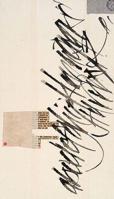 Silvia Cordero Vega - alfabeto (collage-series) 2003