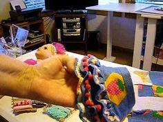 How to Make a Ruffled Skirt for Dolls Pt. 1