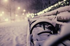 Oh, please snow.