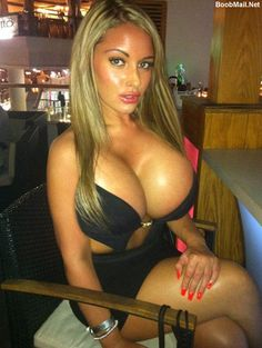 Hot Babe With Huge Silicone Tits