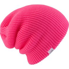 Hot pink super slouch beanie. Cute for playing in the snow with our boys next winter. Love!