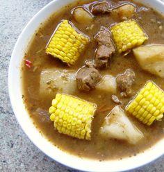 Salvadoran Beef Soup