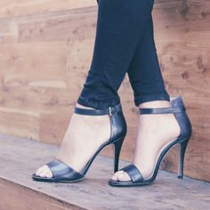 Black Bovary Heels