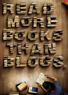 read more books... books, worth read, book worth, inspir, librari, bookworm, blog, quot, thing