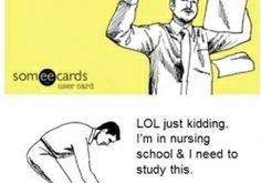 Oh, the nurse life. #LOL #NursingSchool #Students #Nurses