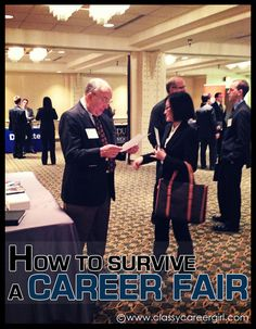 How To Survive a Career Fair and Get a Job Afterwards...Samford's Career Fair is coming April 4, 2013 at the Pete Hanna Center