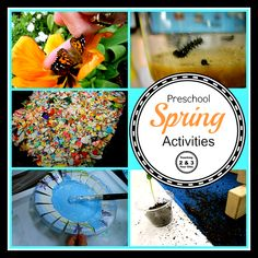 Teaching 2 and 3 Year Olds: A Collection of Spring Activities for Toddlers and Preschoolers