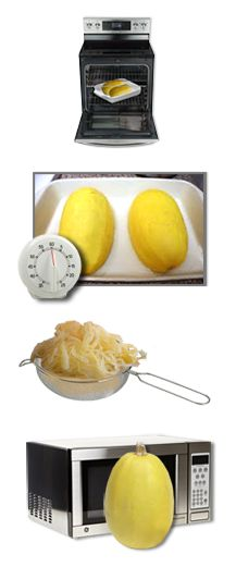 PIN THIS – Spaghetti Squash tips, tricks and recipes from Hungry Girl!