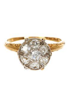 Capri Jewelers Arizona ~ www.caprijewelersaz.com  Antique diamond ring