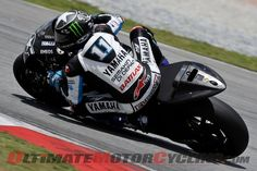 Ben Spies at Sepang II MotoGP testing