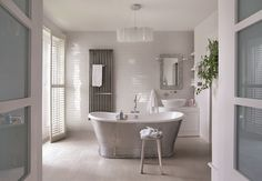 Bath Design: Modern Victorian Glamour - Decorating Diva