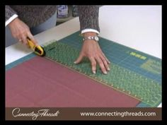 How to Make Bias Binding for a Quilt - YouTube