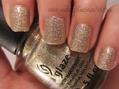Midnight Manicures: China Glaze On Safari Collection.  Click through to read the whole review.