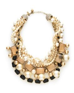 love a statement necklace.