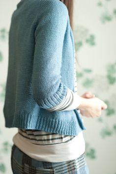 Hannah Fettig Featherweight cardigan pattern.