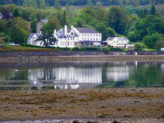 Resting beside the world famous Loch Lomond.