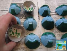 Recycled egg carton memory and sorting game- could do sight words, pictures, spelling words, etc! So cute!
