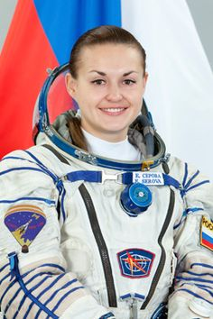 Cosmonaut Elena Serova.  Elena will become only the fourth female Russian Cosmonaut to fly in space and the first to live and work aboard the International Space Station when she launches on Soyuz TMA-14M on Thursday, Sept. 25, 2014 at 4:25 p.m. EDT.