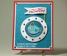 design stamp, snapper design, whipper snapper, snapper card