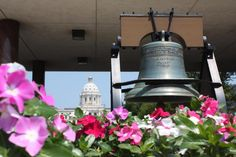Celebrating Independence Day at Minnesota's Capitol.