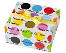 gift wrap, dot person, multi mega, wrap paper, person gift, mega dot, gift idea, person wrap, stationeri studio