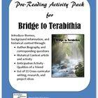 Bridge to terabithia book report worksheets