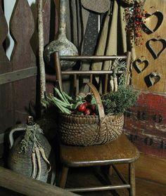 egg gathering basket...