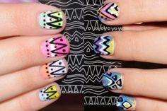 Aztec Nails.