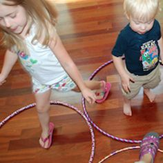 Creative Hula Hoop Games - Pinned by #PediaStaff.  Visit http://ht.ly/63sNt for all our pediatric therapy pins