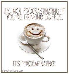 procafinating