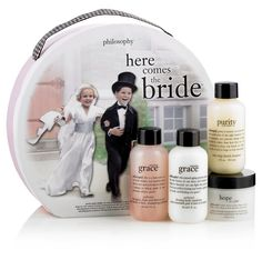 Day 9 of LuxeFinds' Ultimate Giveaway is the Here Comes the Bride Gift Set by Philosophy!