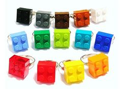 Lego rings - party favors for the girls