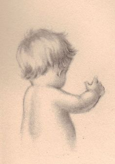 Baby reaching back by katinthecupboard, via Flickr