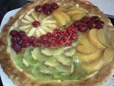 Tarta De Hojaldre y Frutas. Recetas, Gastronomía, Food, recipes, Gastronomy