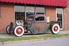 Ford rat rod truck