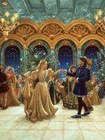 Ruth Sanderson Art-12 Dancing Princesses